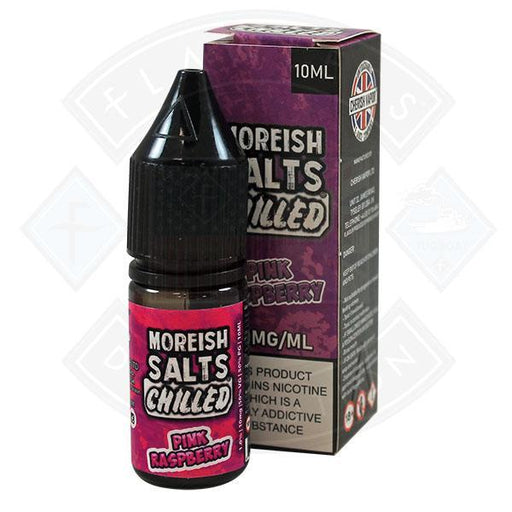 Moreish Puff Nic Salt Chilled Pink Raspberry 10ml