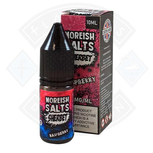 Moreish Puff Nic Salt Sherbet Raspberry 10ml