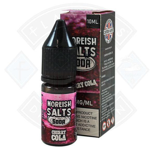 Moreish Puff Nic Salt Soda Cherry 10ml