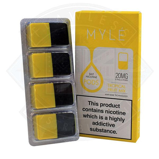 Myle Pod - Tropical Fruit Mix 0.9ml 20mg 4pack