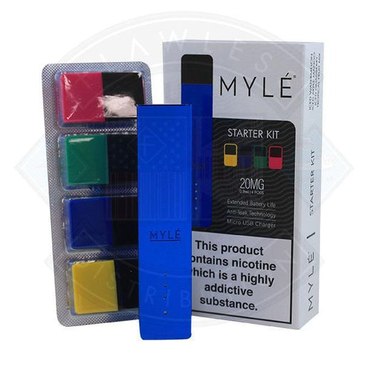 Myle Starter Kit with 4 Flavour Pods