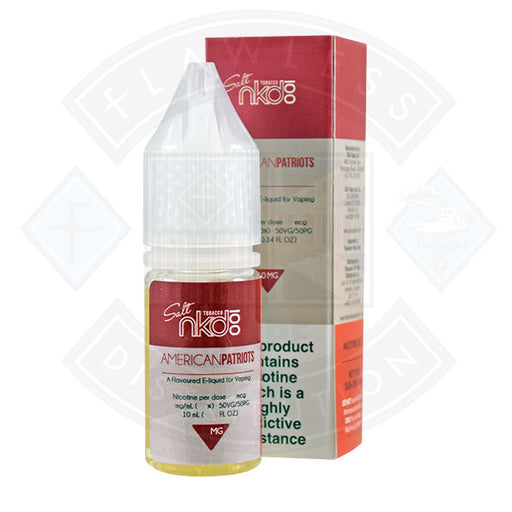 Naked Nic Salt American Patriot 10ml E-liquid