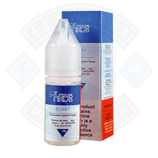 Naked Nic Salt Berry 10ml E-liquid