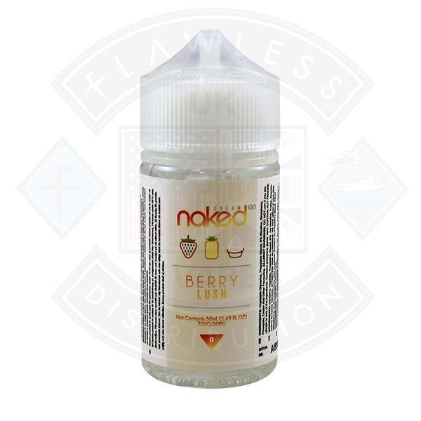 Naked - Berry Lush 0mg 50ml Shortfills