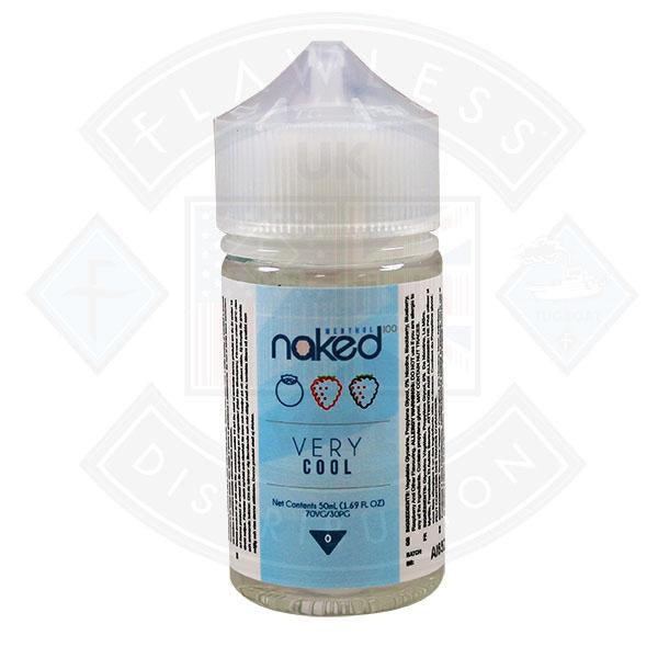 Naked - Very Cool 0mg 50ml Shortfills