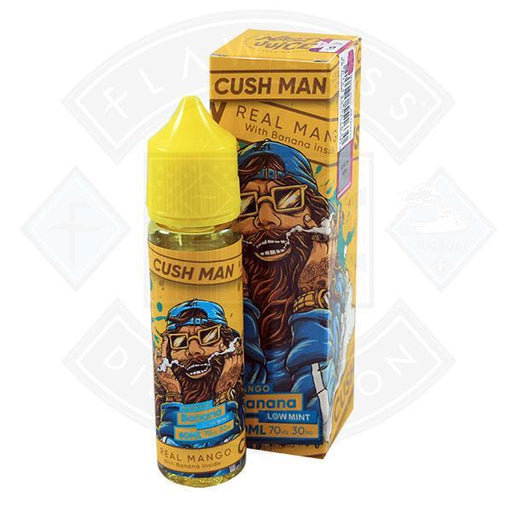 Nasty Juice - Cush Man Mango Banana 0mg 50ml Shortfill E-liquid