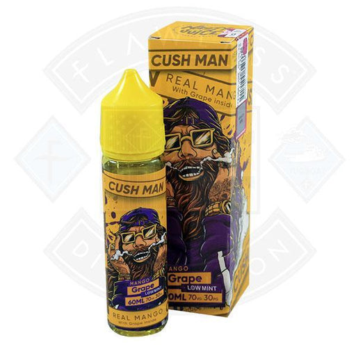 Nasty Juice - Cush Man Mango Grape 0mg 50ml Shortfill E-liquid