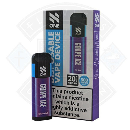 N One Disposable Pod Grape Ice Nic Salt 20mg 2ml