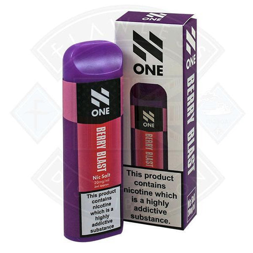 N One Disposable Pod Berry Blast Nic Salt 20mg 20ml