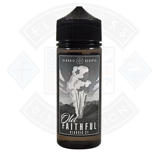 Old Faithful- Classic 21 0mg 100ml Shortfill
