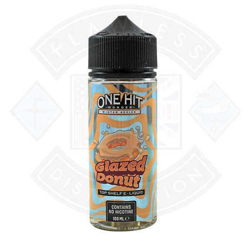 One Hit Wonder Winter Series Glazed Donut 0mg 100ml Shortfill