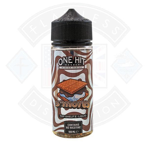 One Hit Wonder Winter Series S'mores 0mg 100ml Shortfill