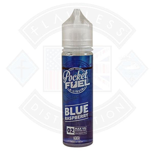 Pocket Fuel Blue Raspberry 02 0mg 50ml Shortfill