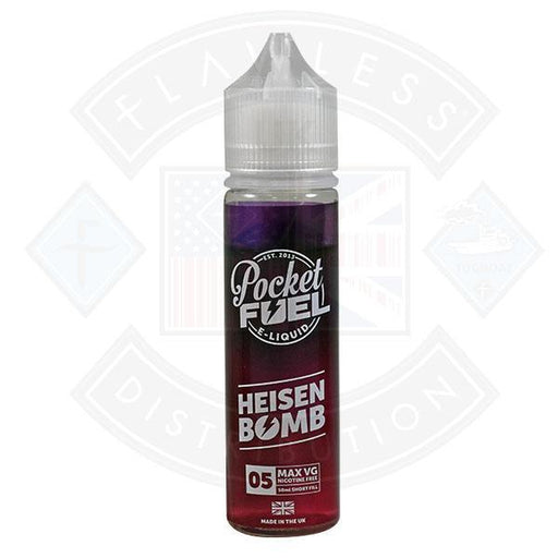 Pocket Fuel Heisen Bomb 05 0mg 50ml Shortfill