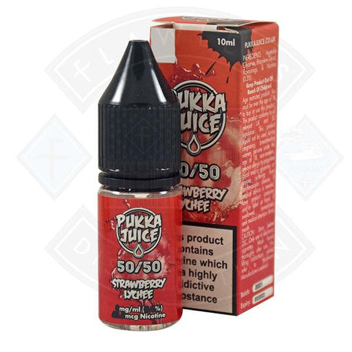 Pukka Juice 50/50 Strawberry Lychee 10ml