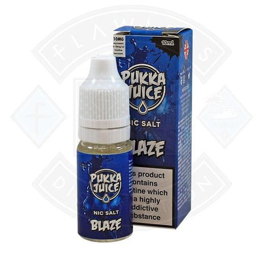Pukka Juice - Nic Salt Blaze 10ml 10mg E-liquid