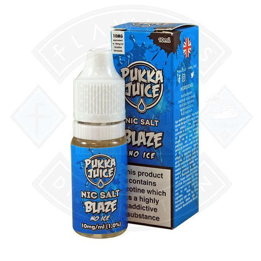 Pukka Juice - Nic Salt Blaze No Ice 10ml 10mg E-liquid