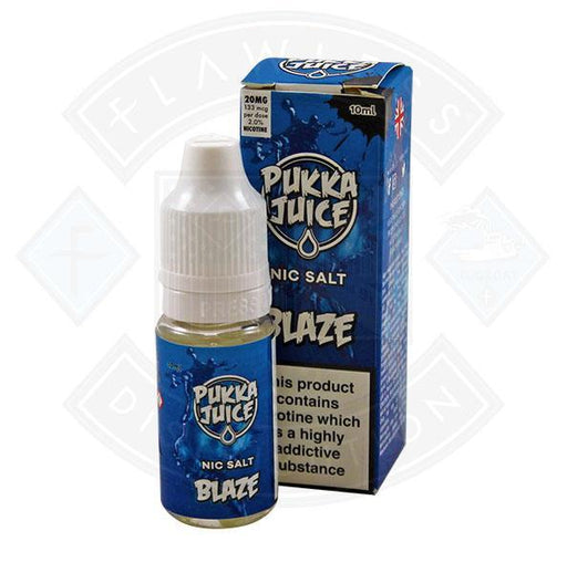 Pukka Juice - Nic Salt Blaze 10ml 20mg E-liquid