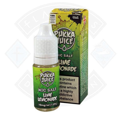 Pukka Juice - Nic Salt Lime Lemonade 10ml 10mg E-liquid