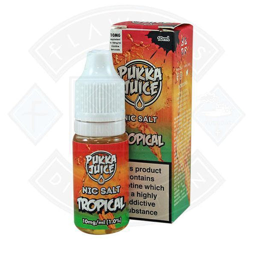 Pukka Juice - Nic Salt Tropical 10ml 10mg E-liquid