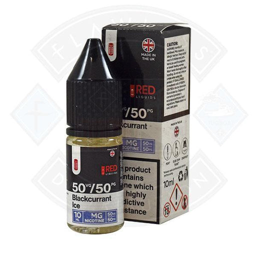 Red Liquids 50/50 - Blackcurrant Ice 10ml