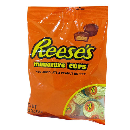 Reese's Peanut Butter Cup Miniatures Peg Pag 5.3oz (148g) (12 pack)