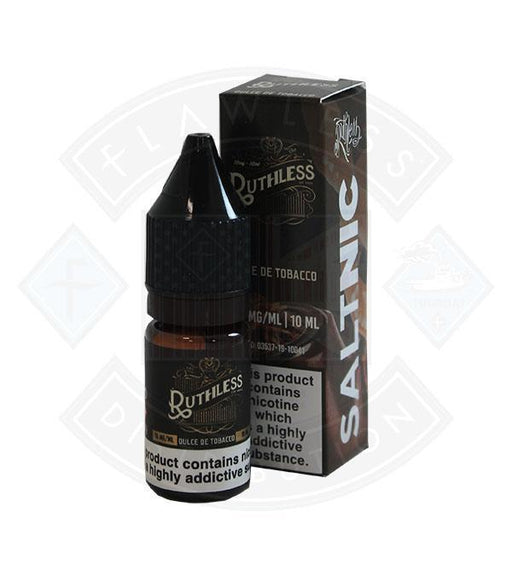 Ruthless Salt Nic Dulce De Tobacco 10ml