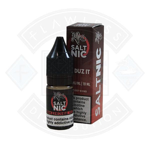 Ruthless Salt Nic Ez Duz It 10ml