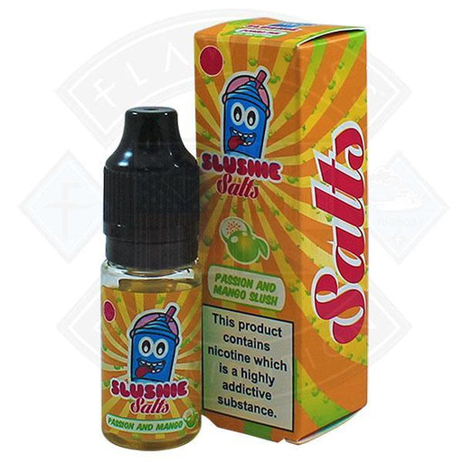 Slushie Salts Passion & Mango Slush 10mg 10ml E-Liquid