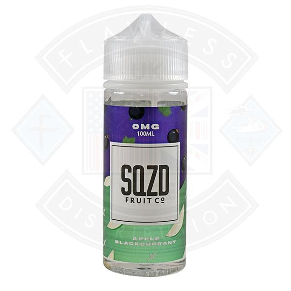 SQZD Apple Blackcurrant 0mg 100ml Shortfill