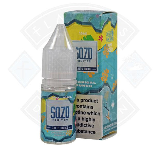 SQZD Salt on Ice Tropical Punch 10ml