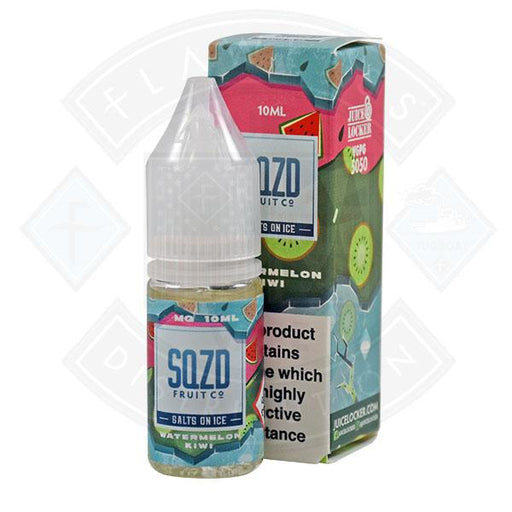 SQZD Salt on Ice Watermelon Kiwi 10ml