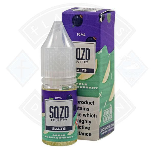SQZD Salt Apple Blackcurrant 10ml