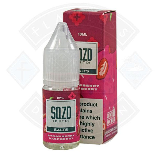SQZD Salt Strawberry Raspberry 10ml