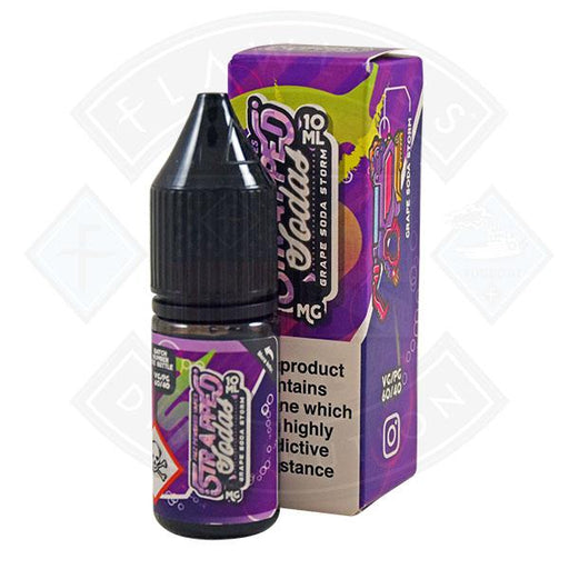 Strapped Sodas - Grape Soda Storm 10ml Salt