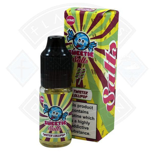 Slushie Sweetie Salts Twister Lollipop 20mg 10ml E-Liquid