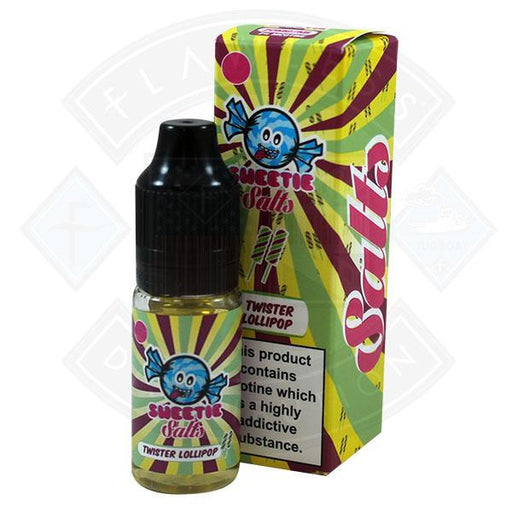 Slushie Sweetie Salts Twister Lollipop 10mg 10ml E-Liquid