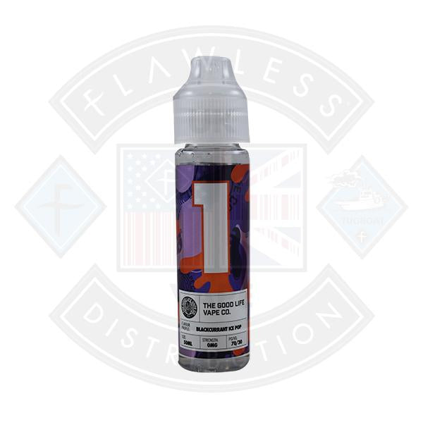 The Good Life Vape Co. No.1 Blackcurrant Ice 0mg 50ml Shortfill