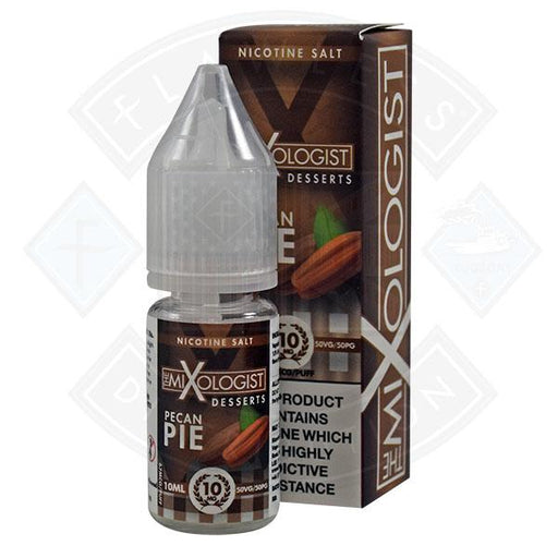 The Mixologist Desserts - Pecan Pie 50/50  Nic Salt 10ml