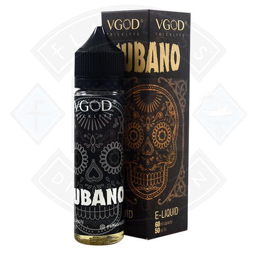 VGOD Cigar - Cubano Rich Creamy Cigar 0mg 50ml Shortfill