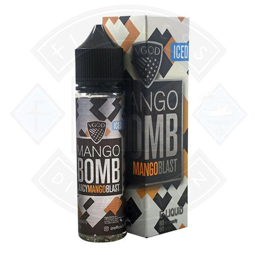 VGOD Iced Bomb - Juicy Mango Blast 0mg 50ml Shortfill