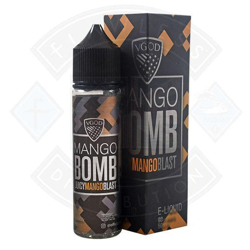 VGOD Bomb - Juicy Mango Blast 0mg 50ml Shortfill