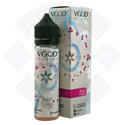 VGOD Tricklyfe Frozen - Berry Flurry 0mg 50ml Shortfill