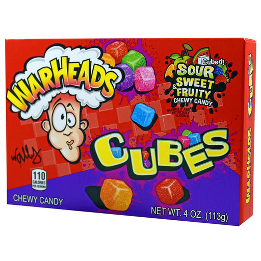 Warheads Chewy Cubes Theatre Box (12 pack)