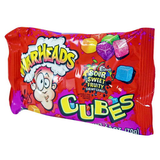 Warheads Sour Sweet Fruity Cubes 2.5oz (70g) (15 pack)