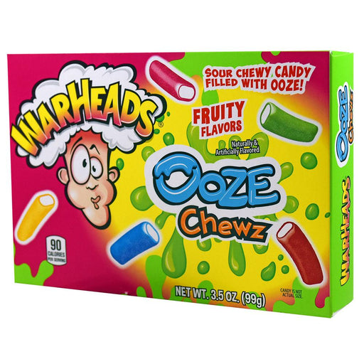 Warheads Ooze Chewz Theatre Box (12 pack)