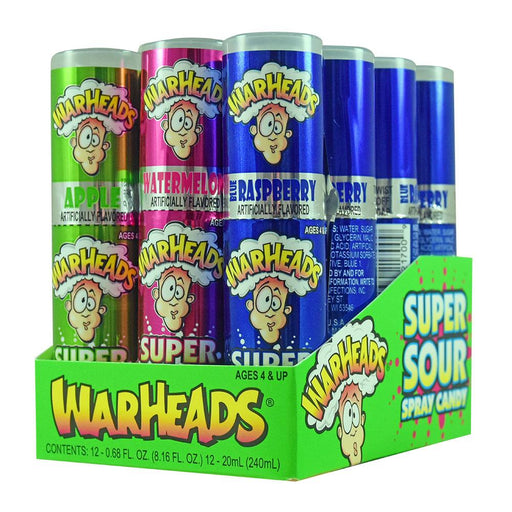 Warheads Super Sour Spray (12 pack)