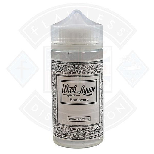 Wick Liquor Juggernaut Boulevard 150ml 0mg Shortfill E-liquid