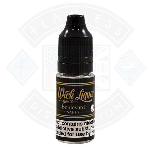 Wick Liquor Salts Boulevard 10ml E-liquid
