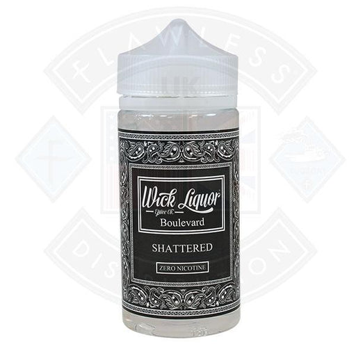 Wick Liquor Boulevard Shattered 150ml 0mg Shortfill E-liquid